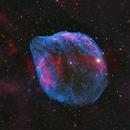 Sh2-308 - The Dolphin Nebula in HO-LRGB,                                equinoxx