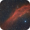 NGC1499 the California nebula. DSLR image,                                Kees Scherer