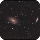 Bode & Cigare Galaxies (M81/82),                                EfilOne
