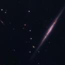 Needle in Pieces- NGC 100,                                Ian Gorin