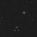 M77 - Seyfert galaxy in Cet (+ NGC 1055),                                Benny Colyn