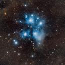 Les Pléiades M45,                                JLastro