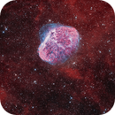 NGC6888, The Crescent Nebula Bicolor HOO,                                Nicolas Kizilian