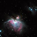 Nebulosas de Orion, Mairan, Hombre Corriendo,                                Walter Garcia