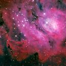 Lagoon Nebula,                                Ken Kattner