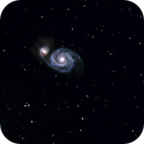 M51 depuis le balcon,                                William Guyot-Lénat