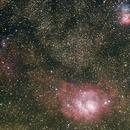 The Lagoon and Triffid Nebula,                                rlenz