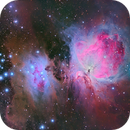 The Orion and Running Man Nebula in LRGB,                                Cfosterstars