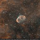 NGC 6888 Bicolor,                                Andreas Zirke
