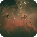 M16 Eagle Nebula - Pillars of Creation,                                John Burns