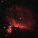 IC434 | Horsehead and Flame Nebulae,                                Tom Hitchen