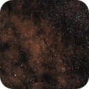 Wide Field in Milky Way - Jupiter near M8 and M20 (may 2019),                                Harold Freckhaus