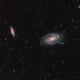 M81-M82 Widefield,                                mlewis