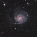 M101 - L-Ha-RGB - cropped,                                Jonas Illner