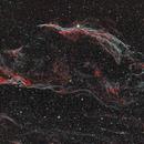 Western Veil Nebula,                                Jeff Kraehnke