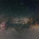 Milky way in Cygnus,                                Markus A. R. Langlotz