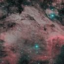 NGC 5070 - Pelican Nebula HOO,                                Michael Wagner