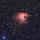NGC281 Pacman Nebula HOO,                                apophis