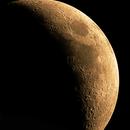 Zunehmender Mond in RGB,                                Silkanni Forrer
