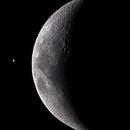 Moon and Venus,                                Delberson