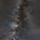 Milky Way East TN, mosaic,                                Donnie B.