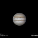 Jupiter & Io Solar Eclipse,                                Damien Cannane