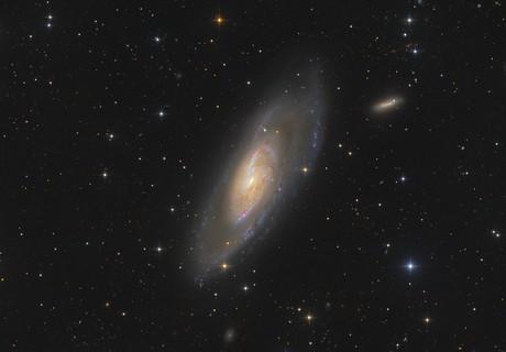 Messier 106,                                Markus Blauensteiner