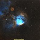 Skull and Crossbones Nebula (NGC2467),                                jprejean