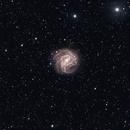 Southern Pinwheel Galaxy (M83) in HA & RGB,                                KiwiAstro