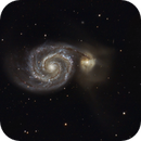 M51 - The Whirlpool Galaxy,                                basskep