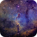 The Elephant Trunk Nebula in SHO,                                Naresh Singh