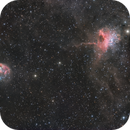 Spider & Fly Nebula in Auriga (IC417 & NGC1931),                                pete_xl