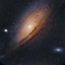 GALAXY ANDROMEDA M31 NGC 224,                                José Santivañez Mueras