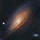 GALAXY ANDROMEDA M31 NGC 224,                                José Santivañez M...