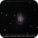 NGC 4535, Lost Galaxy or McLeish's Object, OSC (UHC-S), 12 May 2016,                                David Dearden
