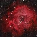 NGC 2244 The Rosette Nebula in HaRGB,                                Eshan Toorabally