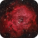 NGC 2244 The Rosette Nebula in HaRGB,                                Eshan Toorabally
