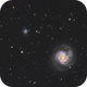 Messier 61, NGC 4292, and NGC 4301,                                Madratter