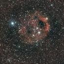 "SH2-173, the ""Phantom of the Opera"" Nebula,                                Gérard Nonnez"