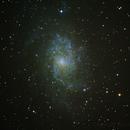 M33 - Galáxia do Triângulo,                                Simon Ribeiro
