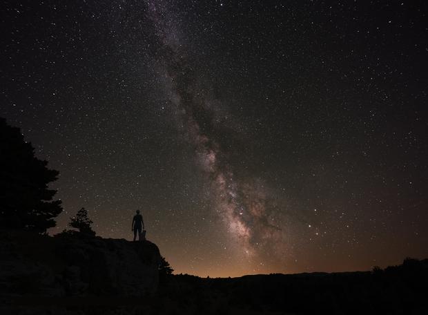 Milky way,                                Dickvantatenhove