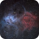 Lion Nebula - Sh2-132,                                tonygl