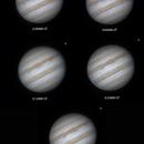 Jupiter & Ganymede - 3 February 2016 - 2:58UT to 3:38UT,                                Roberto Botero