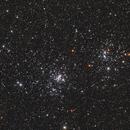 NGC 869 & NGC 884  Perseus' Diamonds,                                Alberto Pisabarro