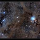 NGC 1333 in a Dusty Field,                                Josh Smith