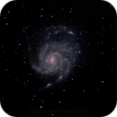 Pinwheel Galaxy M101,                                PeterCPC