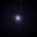 Messier 13 Single exposure 70 seconds iso 1600,                                Neil Emmans