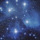 M45 - The Pleiades,                                astroniklas