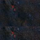 Heart & Soul Nebula Double Cluster Wide Field Reprocess,                                msmythers