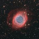 DSLR Helix Nebula 20.8 hours,                                Richard Muhlack